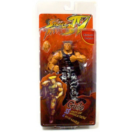 Street Fighter - Neca - Guile Survival Mode