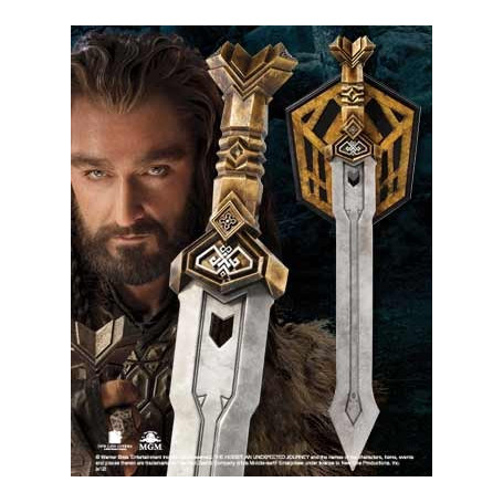 Noble Collection Le Hobbit Epee de Thorin Taille Relle