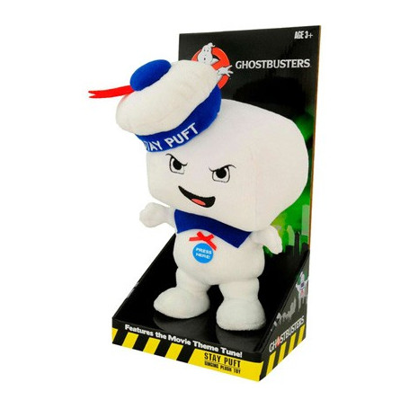 Ghostbusters peluche 25cm Stay Puff sonore colereux
