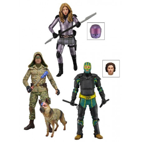 Neca Kick Ass 2 Serie 2 - Set Complet