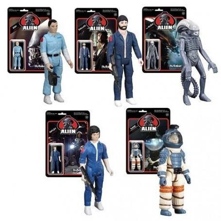 Super 7 - Alien Vintage Reaction figurine Set Complet