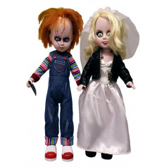 Mezco Living Dead Dolls Chucky et Tiffany