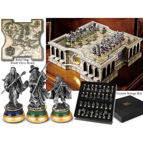Noble Collection LOTR jeu d´échecs