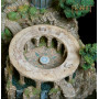 Weta Le Hobbit statue White Council Chamber