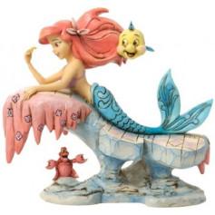 Disney Traditions - Statue la Petite Sirène sur Rocher