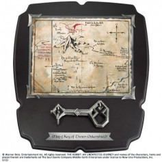 Noble Collection Le Hobbit réplique 1/1 clé et carte de Thorin Écu-de-chêne