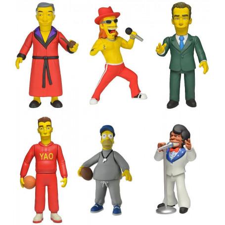 Neca Simpsons 25e anniversary Serie 1 Set complet