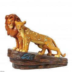 Disney Tradition Le Roi Lion Simba et Nala statue