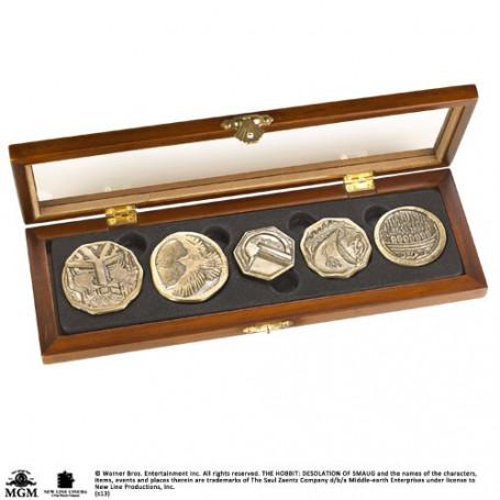 Noble collection Le Hobbit pièces de collection Tresor des Nains