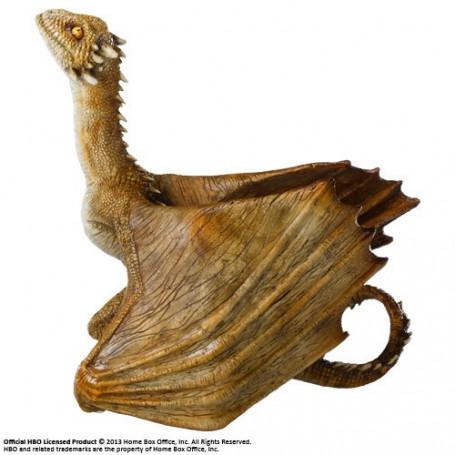 Noble collection Le Trône de fer sculpture Viserion Baby Dragon